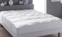 Cotton Duck Feather Mattress Topper from $39.99 to $54.99 (Shipping Included)