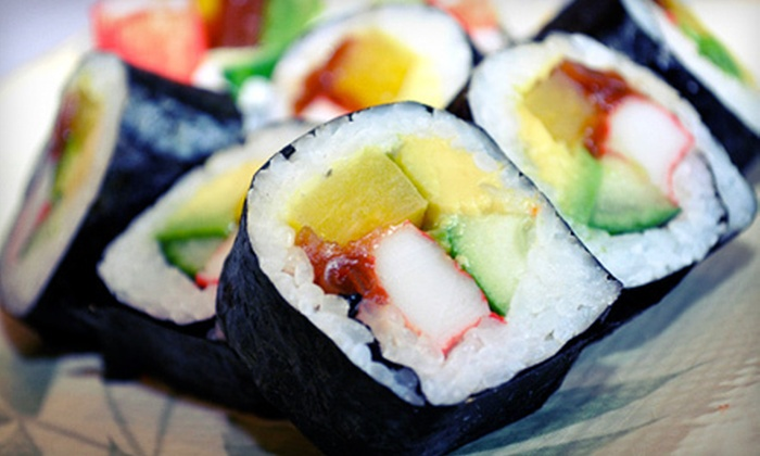 Ye's Sushi - Multiple Locations: Japanese Fare at Ye's Sushi (Up to 52% Off). Two Options Available.