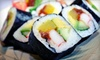 Ye's Buffet - Multiple Locations: Japanese Fare at Ye's Sushi (Up to 52% Off). Two Options Available.