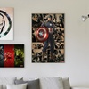 Marvel Art on Gallery Wrapped Canvas