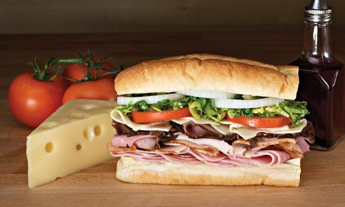 Blimpie - Holland: $12 for Three Groupons, Each Good for $7 Worth of Submarine Sandwiches at Blimpie ($21 Total Value)