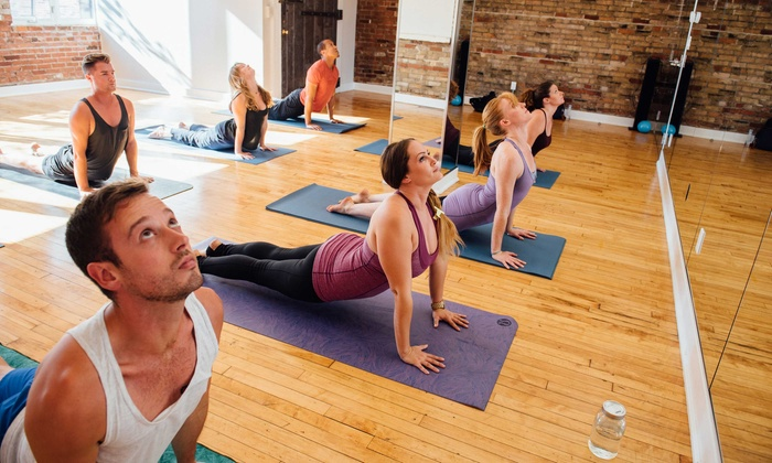 Iam Yoga  - Downtown: 10 Hot Yoga Classes or One Month of Unlimited Classes at Iam Yoga (Up to 70% Off)