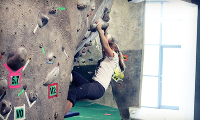 Boulders Climbing Gym - Hawthorne: One or Five Days of Indoor Climbing, Bouldering Class, or Afterschool Club at Boulders Climbing Gym (Up to 76% Off)