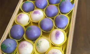 Kat's Cakes: Cake Balls, Petit Fours, and Baked Treats at Kat's Cakes (Up to 47% Off). Three Options Available.