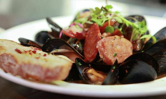 Gastro Bar Restaurant + Wine Bar - Downtown: Up to 44% Off Mediterranean Dinner at Gastro Bar Restaurant + Wine Bar