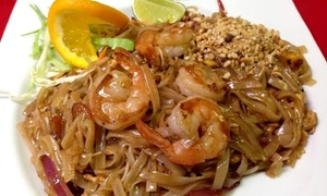 Thai Pattaya Restaurant: Thai Dinner at Thai Pattaya Restaurant (Up to 45% Off)