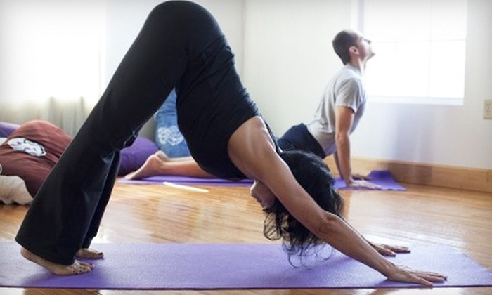 Savannah Yoga Room - Savannah: Eight Classes or One Month of Unlimited Yoga Classes at Savannah Yoga Room (Up to 66% Off)