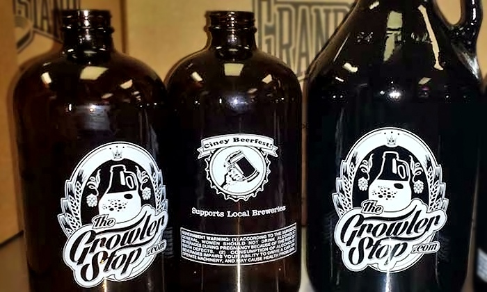 Growler Stop - Newtown: Growler Packages with Glasses and Snacks at Growler Stop (Up to 50% Off). Three Options Available.