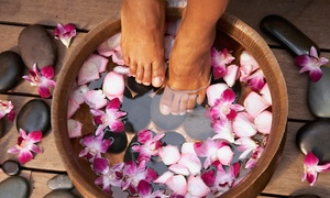 Moods: £17.95 for a Cleansing Foot Spa Treatment Including Head, Neck and Shoulder Massage at Moods (55% Off)