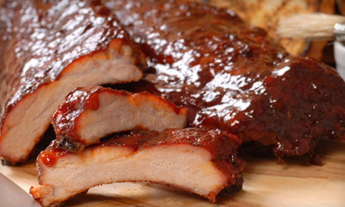 Boonies Bar & BBQ - Sioux Falls: $12 for $25 Worth of Barbecue, Burgers, and Drinks at Boonies Bar & BBQ
