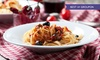 Elianos Brasserie - Middlesbrough: Two-Course Italian Meal for Two or Four from £12.90 at Elianos Brasserie (Up to 61% Off)