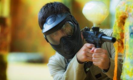4 Stunden Paintball inkl. Maske, Markierer und je 200 Paint bei Adrenalinpark Köln (bis zu 66% sparen*)