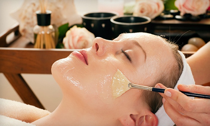 Oasean Spa & Massage - Holladay: One Lifting Facial, Lifting Facial and Body Wrap, or Any Three Facials at Oasean Spa & Massage (Up to 55% Off)