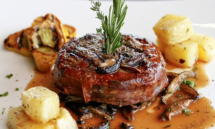 Classic American Dinner for Two or Four at Choices By Shawn (Up to 43% Off)