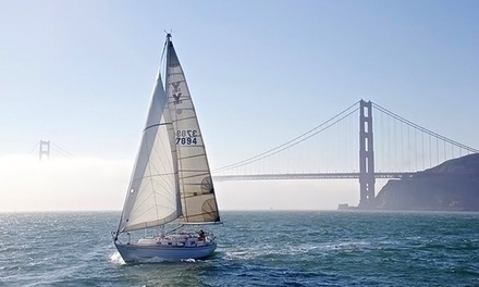 Introduction Sailing Class at Afterguard Sailing Academy (Up to 50% Off). Three Options Available.