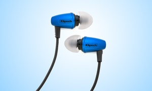Klipsch Image S3 Noise-isolating In-ear Headphones In Brazen Blue. Free Returns.