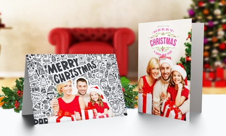 Custom-Folded Greeting Cards from Printerpix.com from $12.99–$69.99