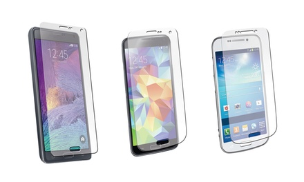 Pro Tech Tempered Glass Screen Protector for Samsung Galaxy S5, S4, or Note 4