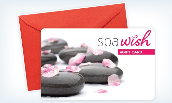 SpaWish: One or Two $50 Spa or Salon eGift Cards from SpaWish (Up to 35% Off)