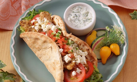 Mediterranean Food or Sampler Platter for Two or Four at Couscous Gyro Kebab (Up to 75% Off)