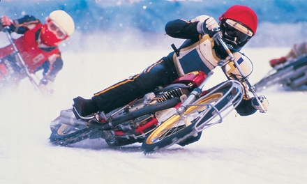$22 for Two Tickets to World Championship Ice Racing at Budweiser Events Center on Saturday, February 21 ($47.50 Value)