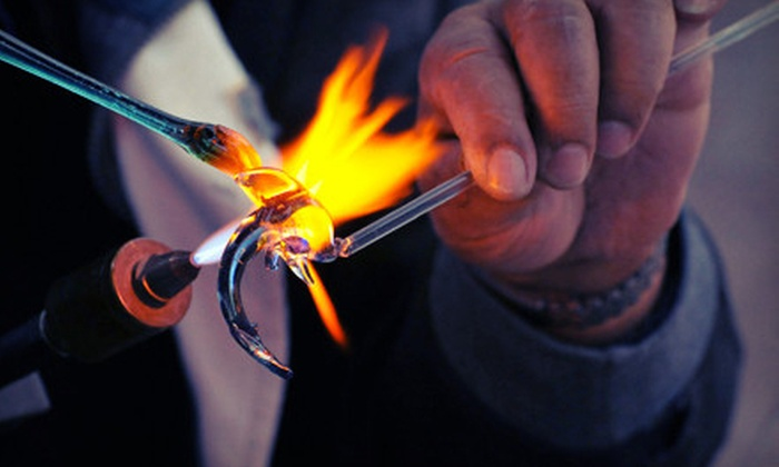 Glass Monkey Art Studio - Austin: Two-Hour Intro to Glass Blowing or Three-Hour Craft Class for One or Two at Glass Monkey Art Studio (Up to 56% Off)