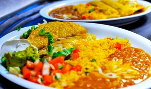 El Tio Tex Mex Grill: Weekend Brunch or Tex-Mex Food and Drinks at El Tio Tex-Mex Grill in DC (Up to 52% Off)