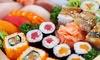 50 pezzi di sushi e vino -69%