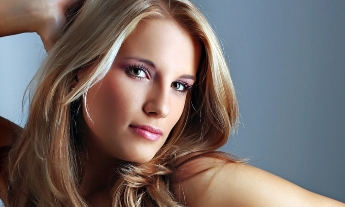Creative Images - Blue Springs: Haircut Package with Optional Partial Highlights Treatment at Creative Images (Up to 55% Off)