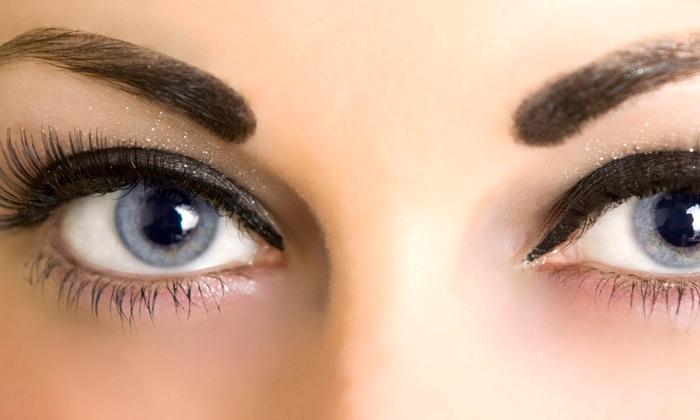 Eyelash Extensions - Glam Eyelash and Brow Bar Salon, L.L.C | Groupon