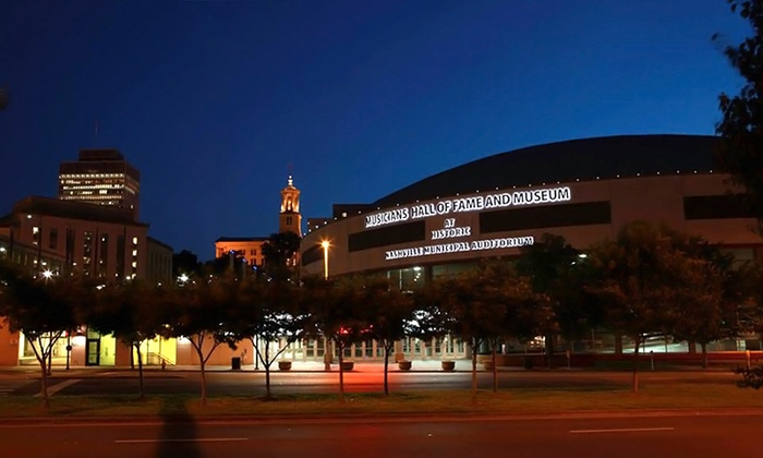 Musicians Hall Of Fame & Museum - Historic Nashville Municipal Auditorium: Entry for One, Two, or Four to the Musicians Hall Of Fame & Museum  (Up to 59% Off)