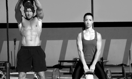 One Month of Boot Camp Classes and a 28-Day nutrition Plan for One or Two at 26.2 CrossFit (Up to 63% Off)