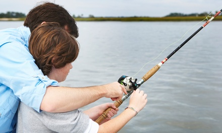 Quarter-Day Parent-Child Fishing Trip or Full- or Half-Day Fishing Trip from Fisherman's Wharf (Up to 50% Off)