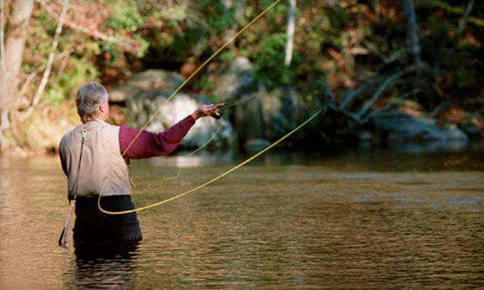GSOutfitting - Greenfield Town: Half or Full Day of Fly-Fishing for Two from GSOutfitting (Up to 51% Off)