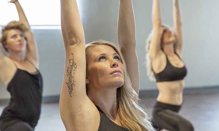 Hollywood Market Yoga - Hollywood Market Yoga: 5 or 10 Hot Yoga Classes with Choice of Spa Service at Hollywood Market Yoga and Spa (Up to 61% Off)