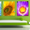 "16"" x 20"" Floral Gallery-Wrapped Artworks"