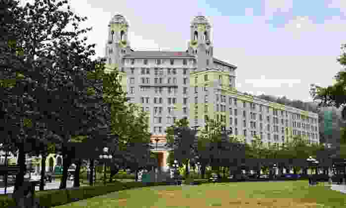null - Little Rock: Stay for Two at Arlington Resort Hotel & Spa in Hot Springs, AR, With Dates Through July