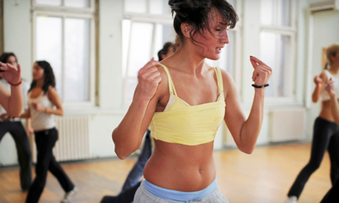 4 Steps 2 Fitness - Rockville: 10 or 20 Zumba Classes at 4 Steps 2 Fitness (Up to 82% Off)