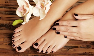 AnTina's Salon & Boutique: One or Two Shellac Manicures at AnTina's Salon & Boutique (Up to 57% Off)