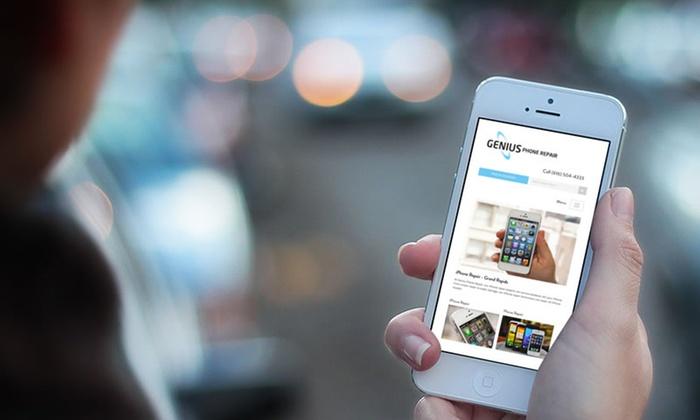 Genius Phone Repair (Michigan Locations) - Multiple Locations: Screen Repair for an iPhone or iPad at Genius Phone Repair (Up to 43% Off). Five Options Available.