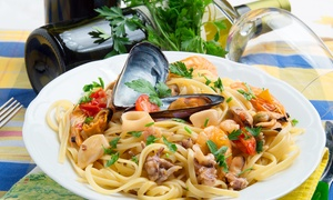 Gilbert's Restaurant & Townhouse: €29 for a Main Course with Wine for Two at Gilbert's Restaurant & Townhouse (Up to 49% Off)
