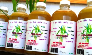 "Five- or Seven-Day ""Detox Elixir"" Juice Cleanse from Raw Cane Superjuice (40% Off)"