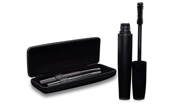 3D Fiber Lashes Transplanting Gel and Green Tea Natural Fibers Mascara