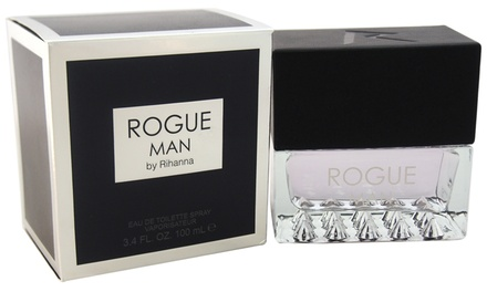 Rogue Man by Rihanna Eau de Toilette for Men (3.4 Fl. Oz.)