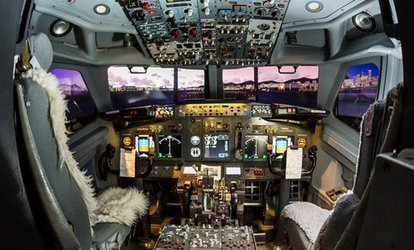 image for 60- or 90-Minute Boeing Flight Simulator Experience with Sim2do (Up to 51% Off)