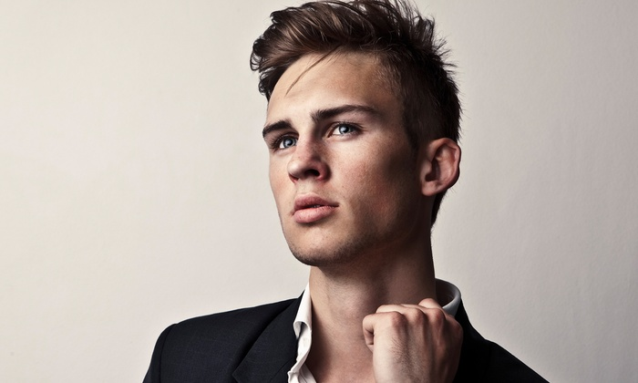 121 Main Place - Highlands: Mens Cut, or Cut and Conditioning Treatment with Optional Highlights or Color at 121 Main Place (Up to 55% Off)