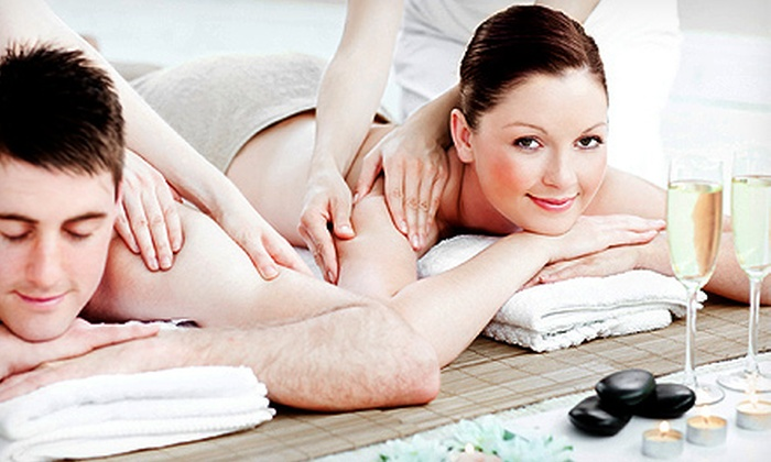 Excelsior Nails & Spa - Excelsior: Spa Manicure with Gel Polish, or a Massage with an Adult Beverage at Excelsior Nails & Spa (Up to 55% Off)