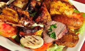 Parrillada de carne para 2 o 4 personas con entrante, bebida y postre desde 19,90 € en La Fonda del Camino