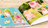 28-Page A4 Hardcover Photobook, or One or Two 40- or 60-Page A4 Hardcover Photobook from eColorland (Up to 81% Off)