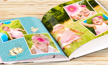 28Page A4 Hardcover Photobook, or One or Two 40 or 60Page A4 Hardcover Photobook from eColorland